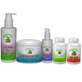 SerraZymes Serrapeptase Cycle Balance cream Super Immune Booster Milk Thistle Liver Cleanse Infertility Cleanse