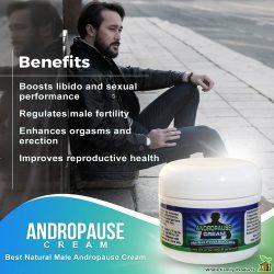 Andropause Cream Increase Male Libido