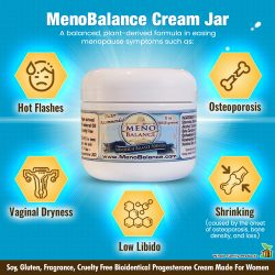 MenoBalance Cream Best Progesterone Cream for Menopause