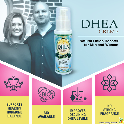 Dhea Cream Balance Hormone Naturally